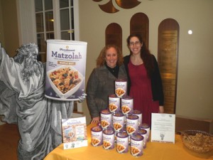 Debbie and Jen Gantwerker at Temple Shearith Israel in Ridgefield, CT on March 9 at the congregational Passover Wine Tasting Fundraiser